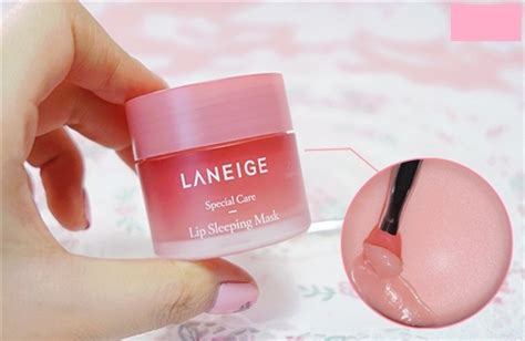Harga Laneige Lip Sleeping Mask 3gr m蘯キt n蘯 ng盻ァ d豌盻 ng m 244 i laneige lip sleeping mask mini 3gr