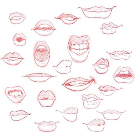 how to draw mouths 25 best ideas about drawing on draw
