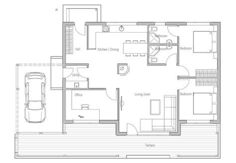 affordable small house plans affordable home plans affordable home plan ch23