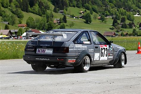 toyota time toyota ae86 time attack ca chante bien un 4age dledmv
