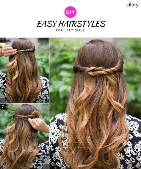extremely easy hairstyles for school best 25 medium length bridal hair ideas on pinterest