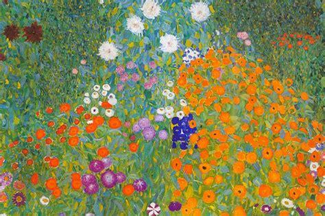 klimt fiori klimt 56 milioni di per il giardino di fiori 232 la
