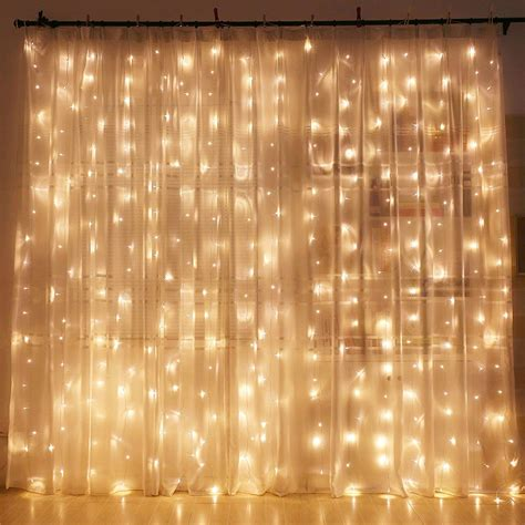 White Led Curtain Promotion Shop For Promotional White Led Curtain Of Lights