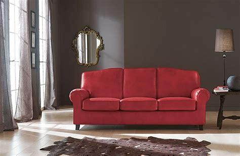 divano pelle rosso divano rosso guida alla scelta divani moderni