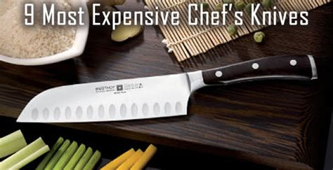 most expensive kitchen knives most expensive kitchen knife in the