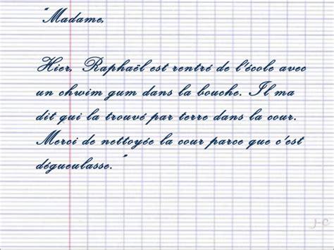 Lettre De Remerciement D Un Eleve A Prof Mots D Excuse