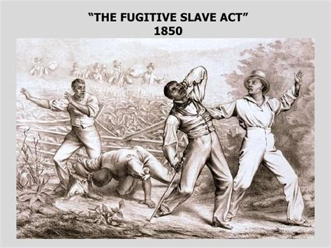 sectionalism leading to the civil war pics for gt fugitive slave act political cartoon