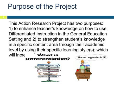 format proposal classroom action research differentiated instruction action research proposal