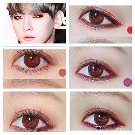 tutorial makeup korea pinterest kpop makeup tips eyeliner google search pin