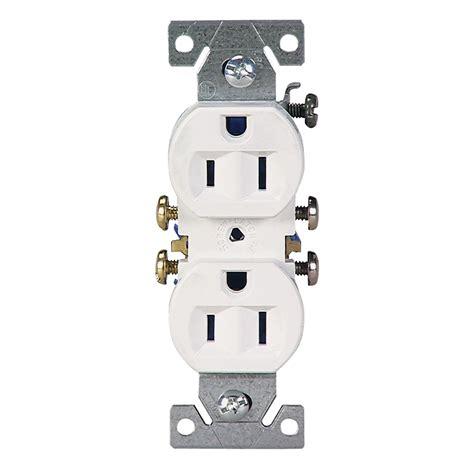 shop cooper wiring devices 10 pack 15 white duplex