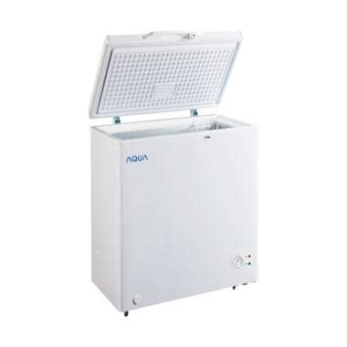 Freezer Box Merk Aqua jual aqua japan aqf 100 chest freezer harga