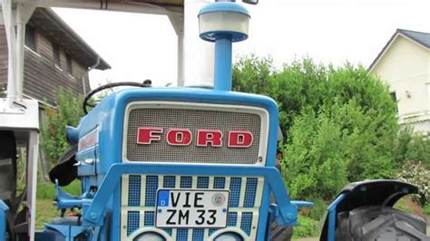 lbe ford oldtimer traktoren ford 4000a bj 1973