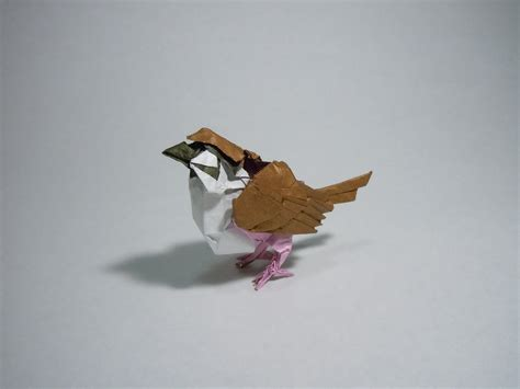 Origami Sparrow - how to make an origami sparrow 28 images origami