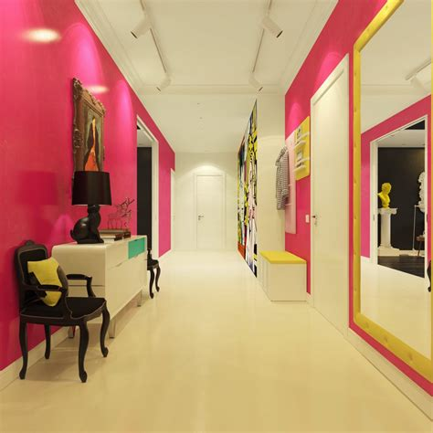 contemporary pop artists modern pop style apartment