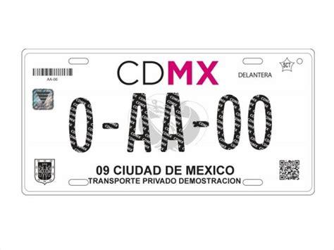 ultima fecha para pagar placas de autos 2016 as 237 son las nuevas placas de la cdmx autocosmos com