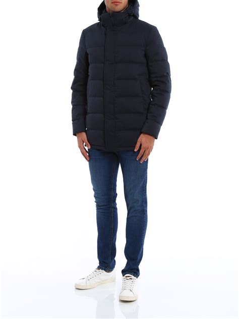 Hooded Padded Coat hooded padded coat by herno padded coats shop