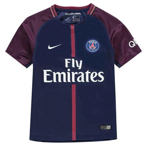 Jersey Bola 10 Neymar Psg Home 2017 2018 Grade Ori S M L Xl psg shirt neymar jr kamos t shirt