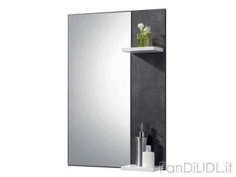 mensole con luce specchio bagno 187 specchio bagno con mensola e luce