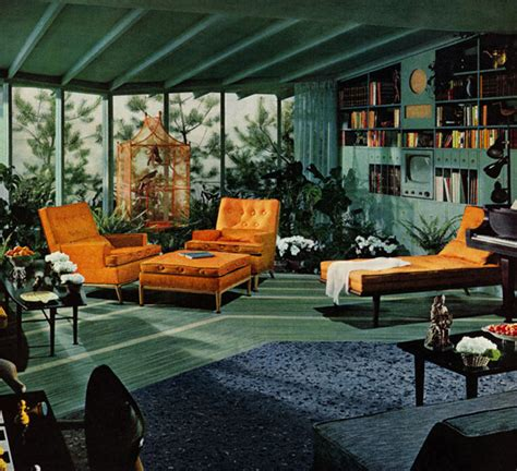 a look at 1950 s interior design nectar
