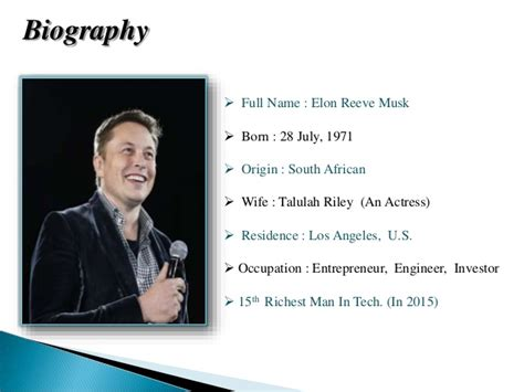 elon musk best biography biography of quot elon musk quot
