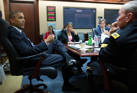 The Situation Room by Obama Authorizes Targeted Airstrikes Against In