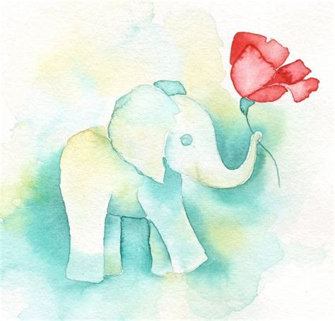 watercolor elephant tutorial 13 best elephant art paintings by katrina pete images on