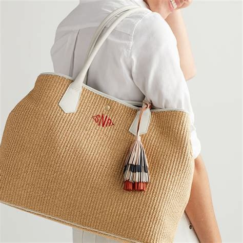 italian straw bag mark  graham