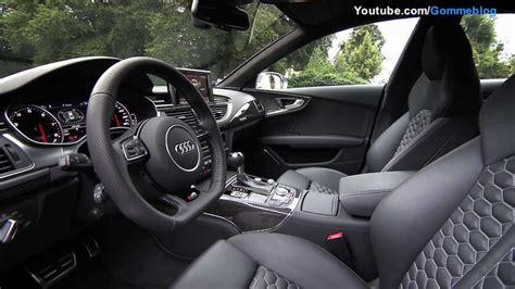 Audi Rs7 Interior by Audi Rs7 Interior Wallpaper 1280x720 28883