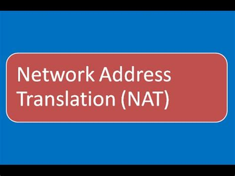 what is network address translation tutorial nat basics for beginners ccna part 1 doovi