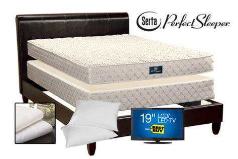 epic king size bed package at gardner white