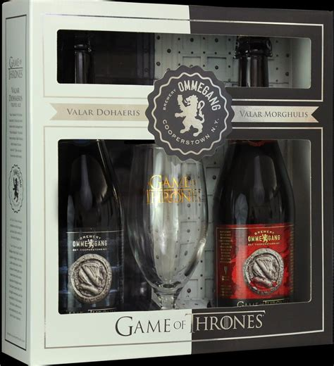 game of thrones gifts kevin also blogs review sip and savor ommegang s valar