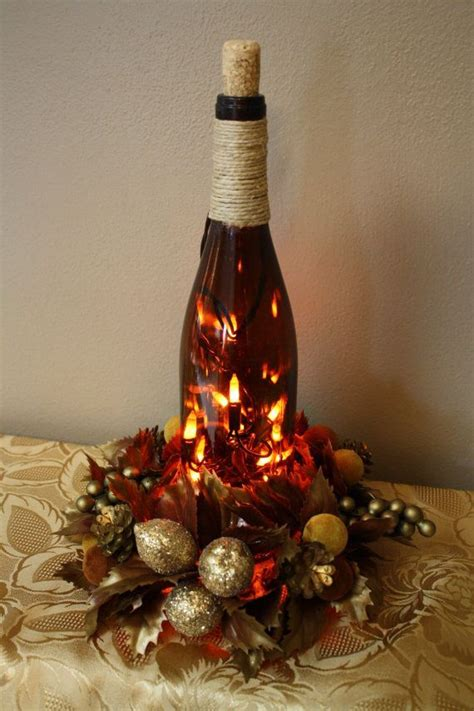 wine bottle ls crafts 31 beautiful wine bottles centerpieces perfect for any