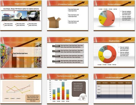 layout supermarket ppt powerpoint templates grocery theme choice image