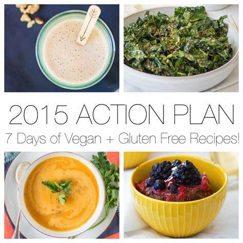 2015 plan 7 days of vegan gluten free recipes