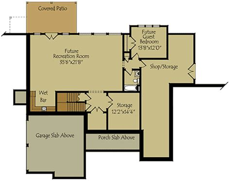 Home Floor Plans With Basements one story floor plans with basements