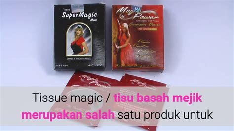 Tisu Magic Maxx manfaat tisu magic power terungkap manfaat tersembunyi