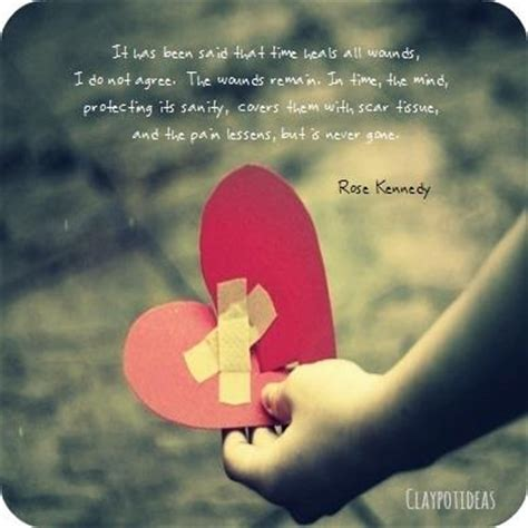 Kennedy Quote Time Heals All Wounds