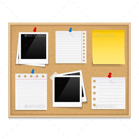 templates for bulletin boards bulletin board graphicriver