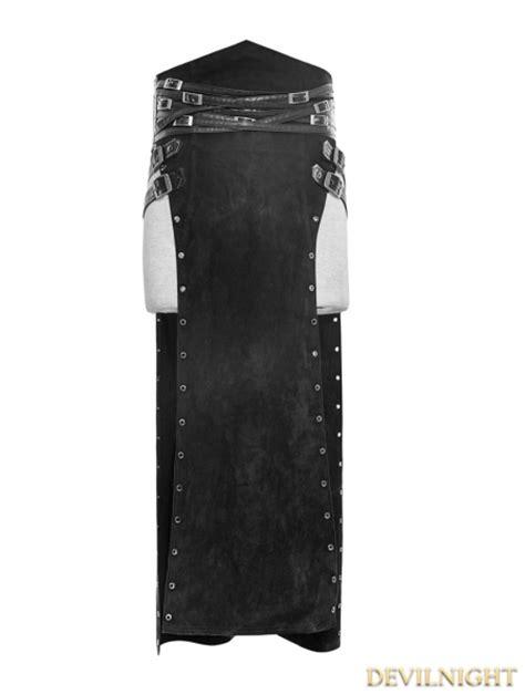 12835 Black Dress black split skirt for devilnight co uk