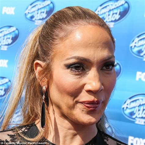 Jlo Ready For Up by Walks The American Idol Carpet At The