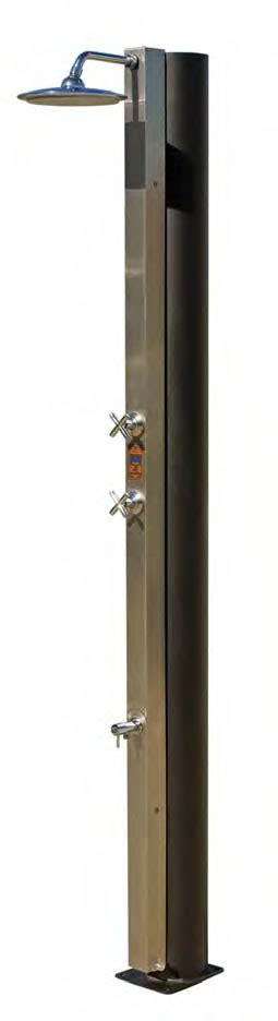 Pool Maintenance stainless steel outdoor solar pool shower