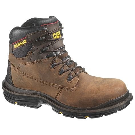 caterpillar work boots for s caterpillar 174 6 quot transition composite toe work boots