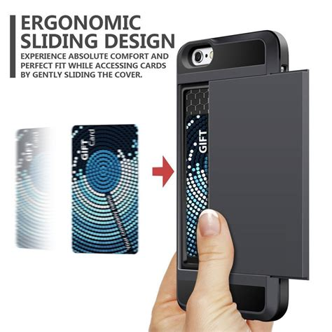 Slim Bahan Karbon For Iphone 7 sgp hybrid tough armor with card slider for iphone 7