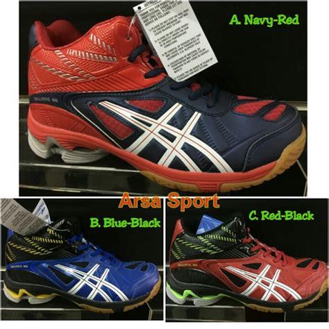 Termurah Sepatu Volley Professional Turbolite Md Blue Black Original penjual sepatu volly joging professional ballistic md arsa sport