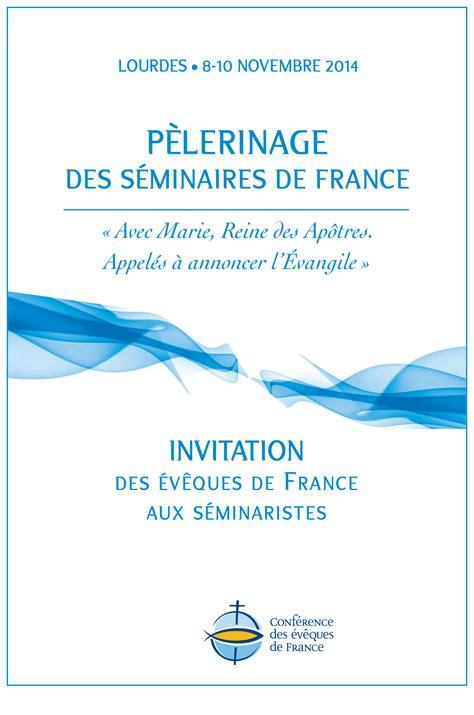 Modèle De Lettre D Invitation Au Restaurant Invitation Des Ev 234 Ques De Aux S 233 Minaristes 201 Glise Catholique En