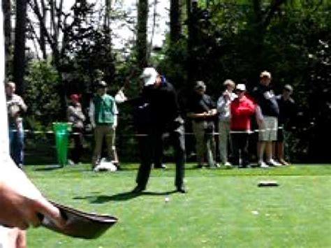 dj trahan golf swing dj trahan 09 masters in slo mo