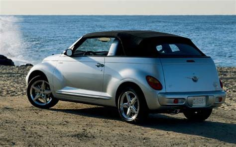 chrysler pt cruiser convertible  drive road test review motor trend