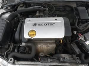 Vauxhall Astra Engines Vauxhall Astra Mkiv G 2001 2005 1 6 1598cc 16v 16v Z
