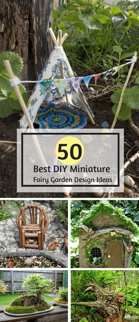 Fairies For Garden Decor 50 Diy Miniature Garden Design Ideas Interiorsherpa