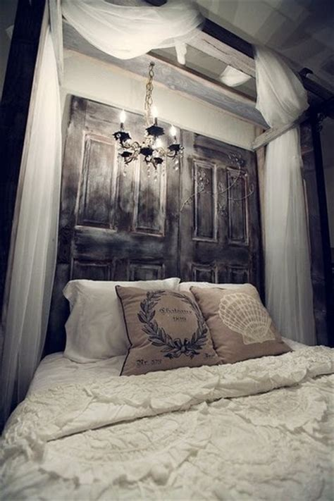 old door headboard diy decorating your bedroom to become your san diego dream home